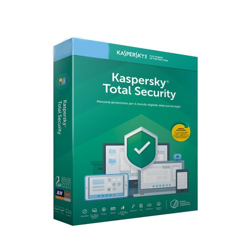 Kaspersky Total Security 3 PC 1 Anno ESD