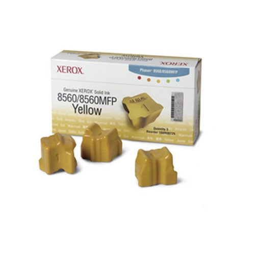 Phaser 8560MFP/8560 Solid Ink Giallo (3 stick)