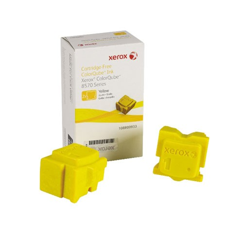ColorQube 8570/8580 Solid Ink Giallo (2 stick)